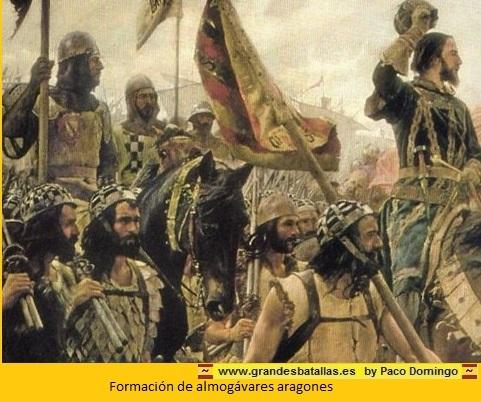 FORMACION DE ALMOGAVARES ARAGONESES