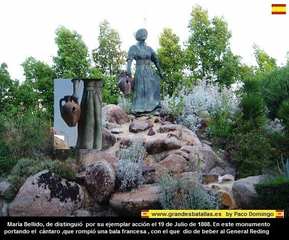 MARIA BELLIDO, HEROE BATALLA DE BAILEN