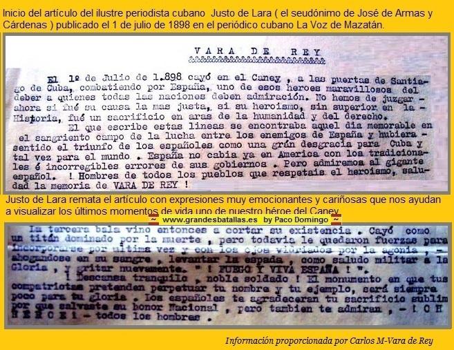 ARTICULO MAZATAN VARA DEL REY