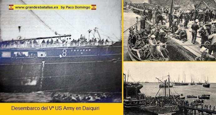 DESEMBARCI US ARMY EN DAIQUIRY