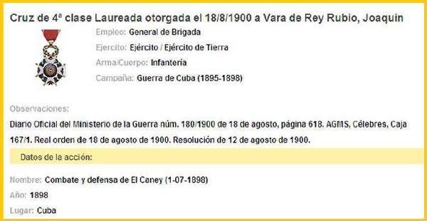 LAUREADA VARA DE REY CANEY