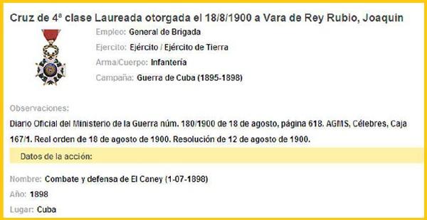 LAUREADA VARA DE REY CANEY