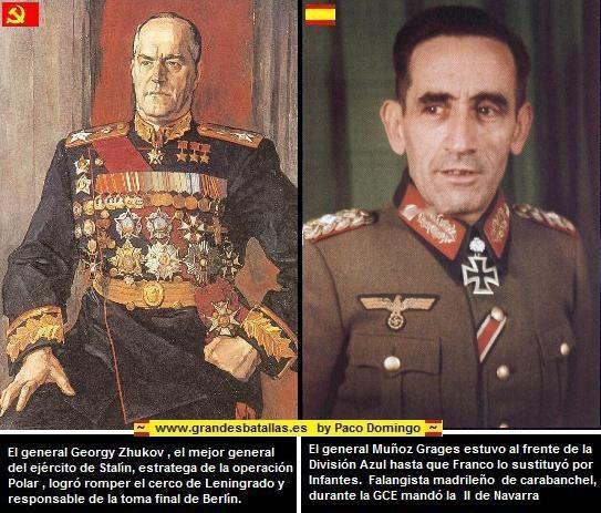 generales muñoz grades y zhukov