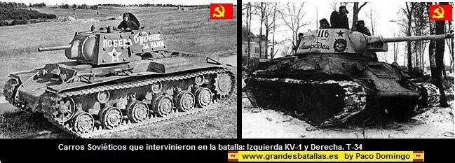 CARROS T-34 Y K-V1