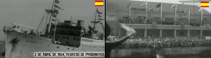 RETORNO DE LOS PRISIONEROS