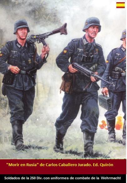 soldados de la division azul