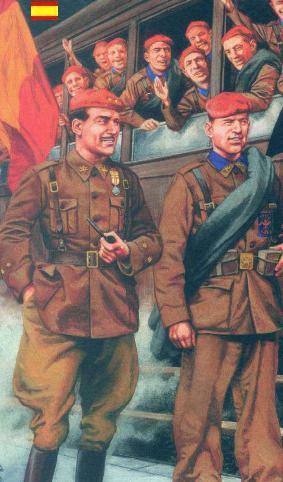 uniforme de la división azul