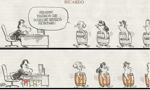 Con la Diada de Catalunya, termina la Guerra de Sucesión . DIADA%20CHISTE%201