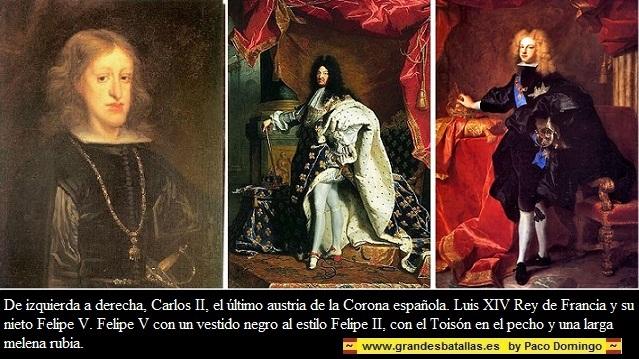 CARLOS II FELIPE Y LUIS XIV