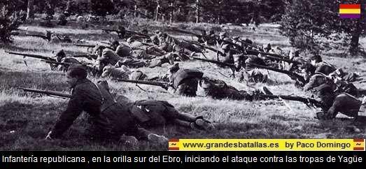 ataque infanteria ejercito del ebro