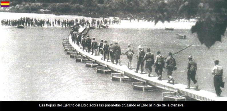 EL EJRCITO DEL EBRO INICIA EL PASO DEL EBRO