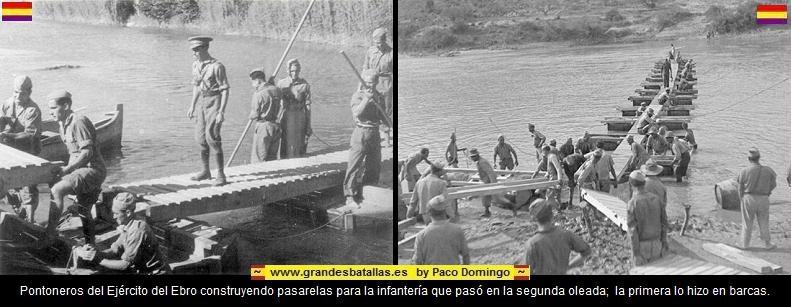 PONTONES CONSTRUYENDO UNA PASARELA