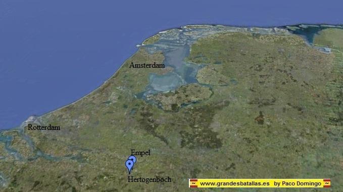 mapa empel