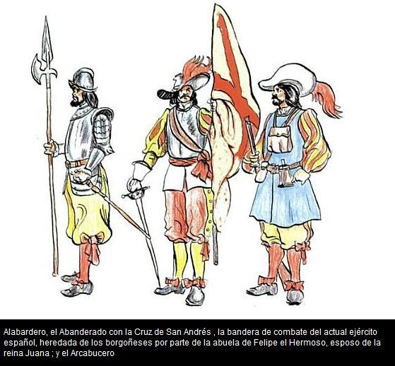 ALABARDERO, ABANDERADO Y ARCABUCERO DE LOS TERCIOS ESPAÑOLES