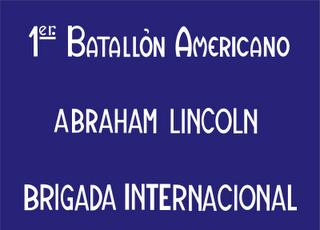 BANDERA BATALLON LINCOLN
