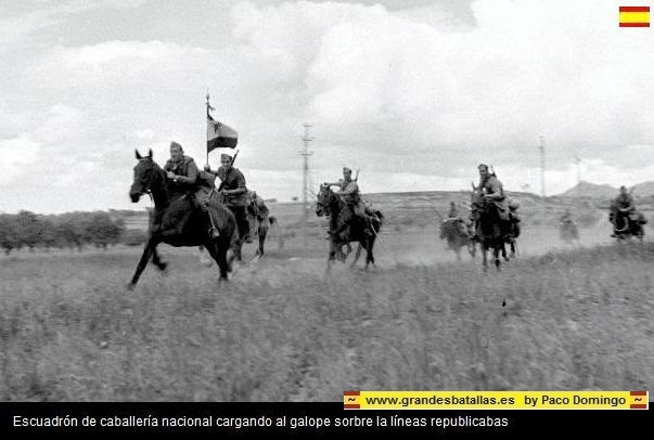 CARGA CABALERIA NACIONAL EN EL JARAMA