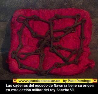 las cadenas de las navas de Tolosa, Navarra
