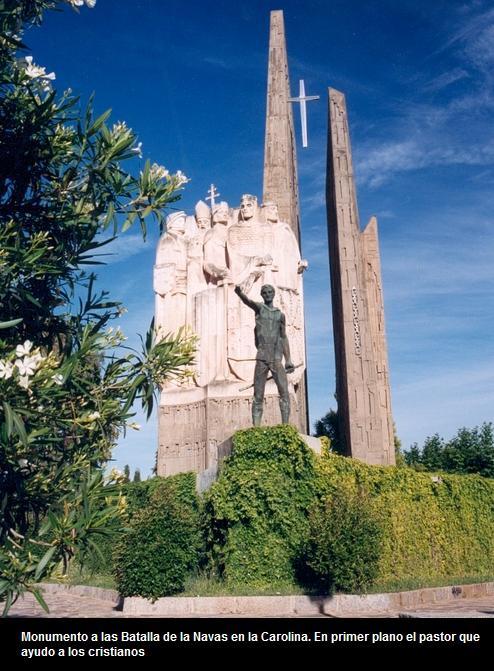 monumento, batalla, navas de Tolosa, Carolina, pastor, cristianos