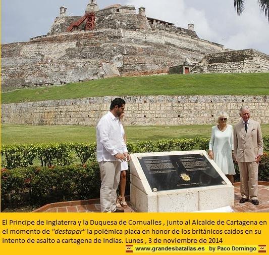 INAGURACION DE LA PLACA POR EL OREJAS Y LA CORNUALLES