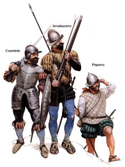 soldados de los tercios imperiales