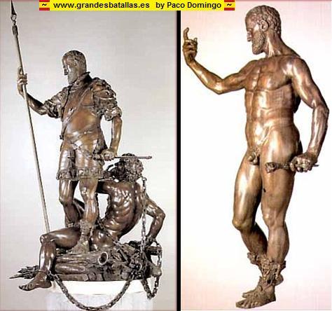 escultura de carlos I