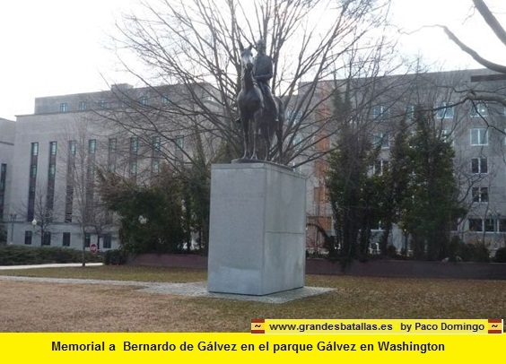 MEMORIAL A GALVEZ WASHINGTON