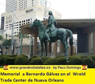 memorial a galvez en nueva orleans