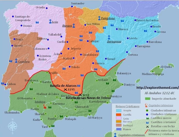 Navas De Tolosa Mapa.He Rehecho Mi Mapa De Espana Pagina 3 Forocoches