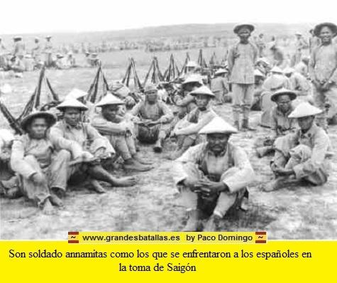 SOLDADOS ANNAMITAS