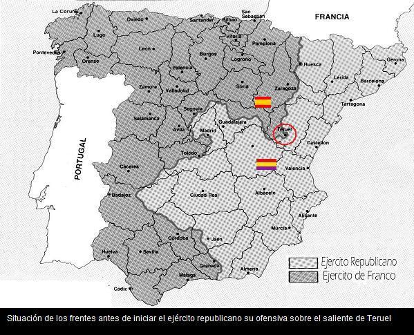 Guerra Civil Espanola La Batalla De Teruel