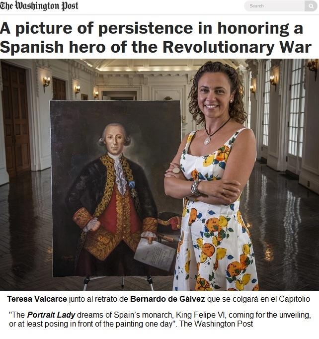 teresa valcarce y el retrato de bernardo de galvez