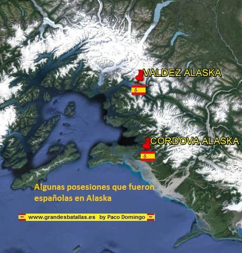 POSESIONES ESPAÑOLAS EN ALASCA
