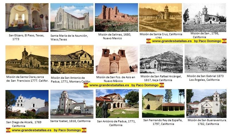 misiones españolas en usa